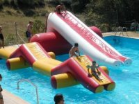 The multi slide, the star of many swimming pools