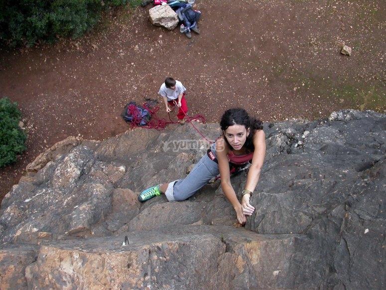 Discovery of climbing in Cerro del Hierro