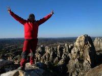 Making summit Cerro del Hierro