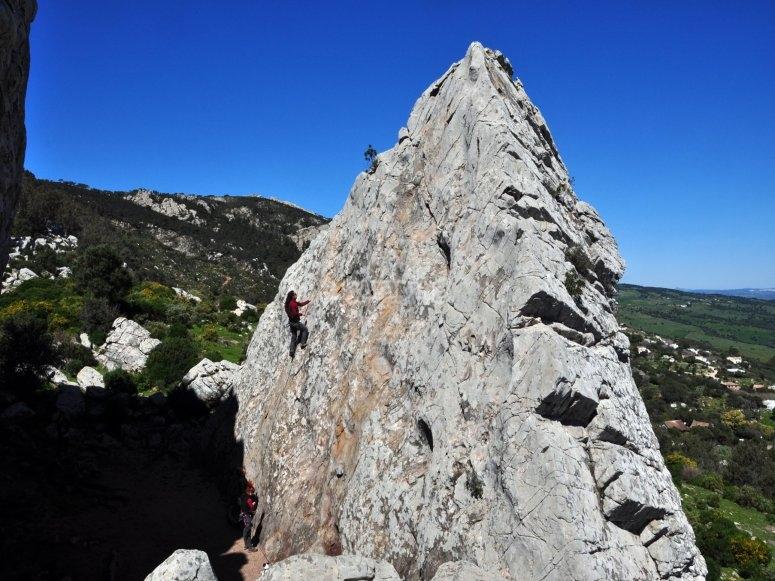 Area di arrampicata