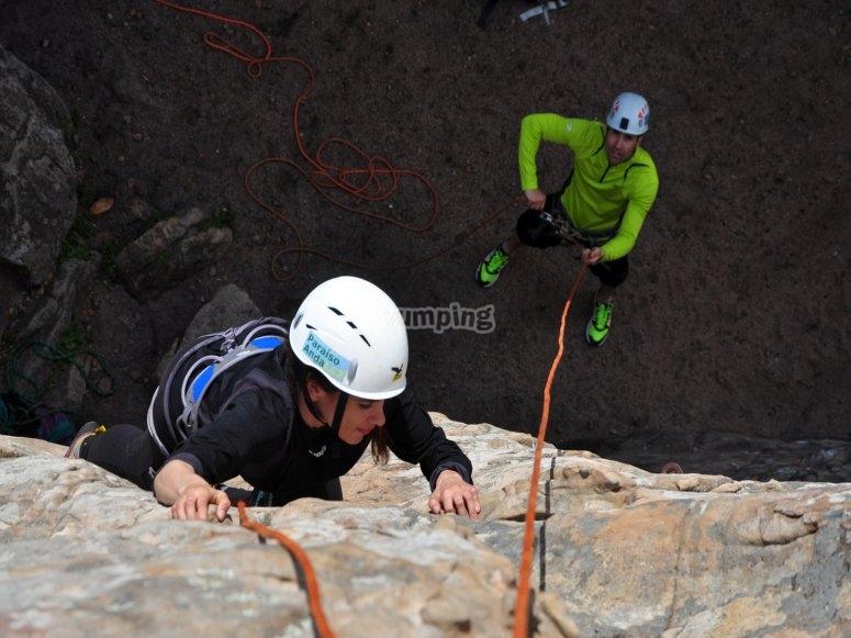 Percorso di arrampicata