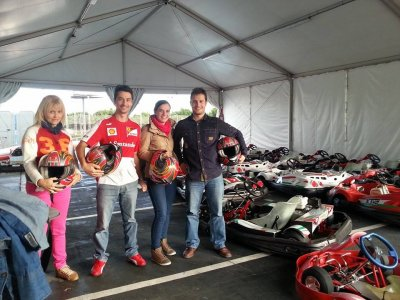 Mini Gran Premio de Karting para grupos