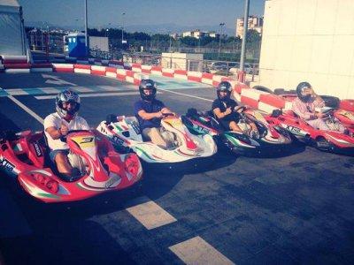 Great Karting Prix on road 16 laps