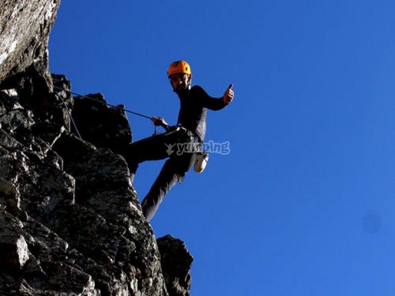 Un gran curso de escalada
