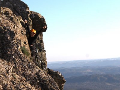 2 days + 1 night climbing course Aracena mountains