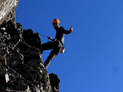 Climbing and caving, Sierra de Aracena+night