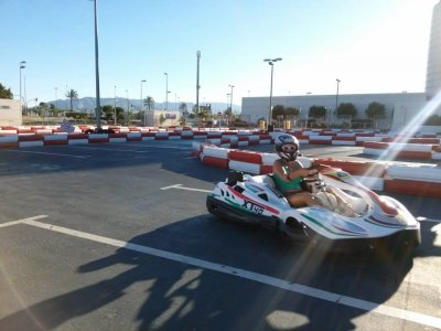 Tanda en Kart Junior en Málaga durante 10 minutos
