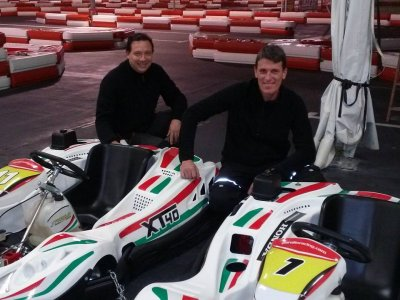 Kid's karting session in Málaga 8 minutes