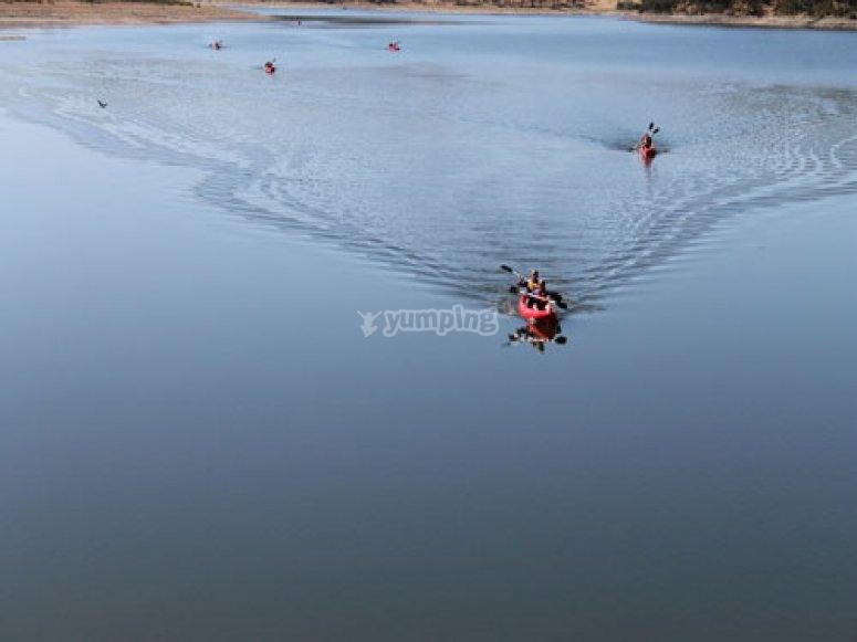Juegos en kayak