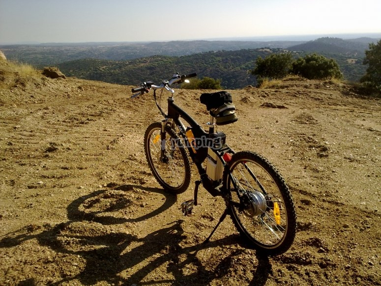 Paseo en bici eléctrica