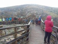 Mirador hacia la Sierra de Guadalajara