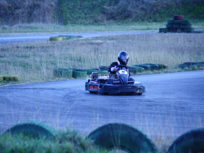 High speed turn
