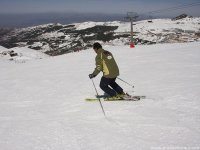 内华达山脉的滑雪课,2小时