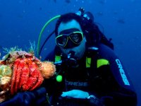 Bautismo buceo mar + transporte desde Orcoyen