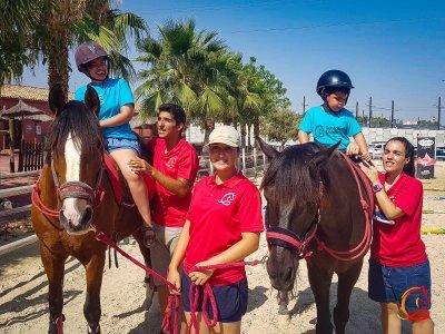 Bonus 3 horseback riding lessons at La Alberca