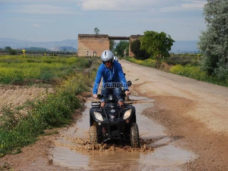 Quad individual o biplaza ruta por Navarra