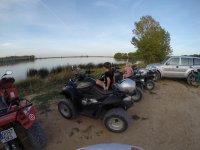 Salida en quad en familia Cascante
