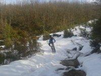 en nieve