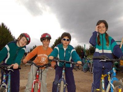 Campamento en Navarredonda de Gredos