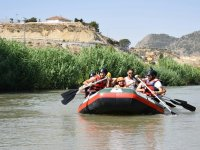 Rafting with friends in Murcia