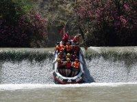 Rapids on the Segura River