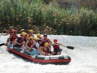 Rafting celebrations