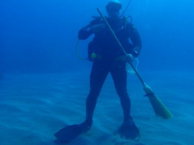 Especialidad de buceo Project Aware en Carboneras