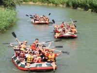 塞古拉河上的团队建设