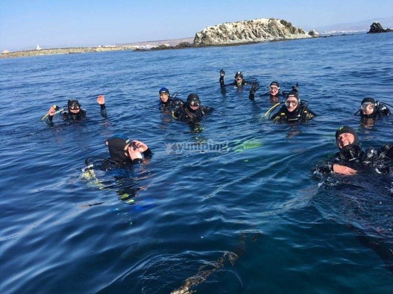 Exploring Tabarca Isle