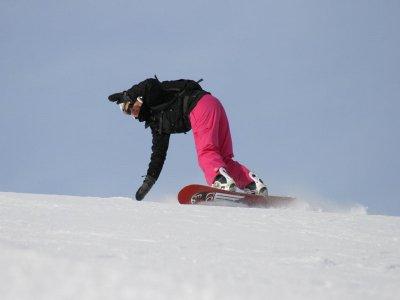 内华达山脉的滑雪板课程3小时