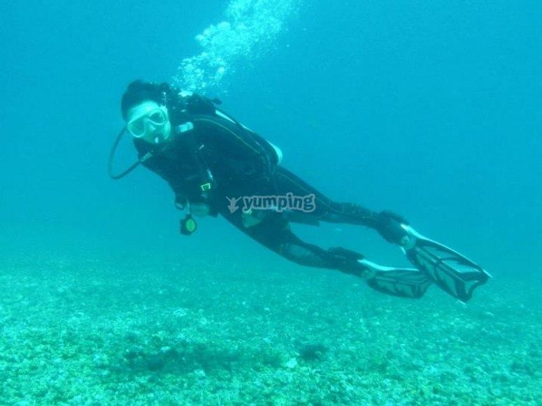 Pacchetto completo di immersioni