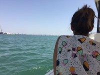 En el mar a bordo del Papua