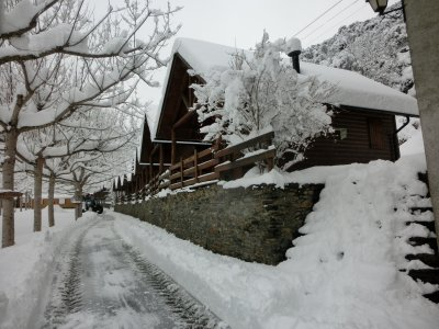 Snowshoeing and 2 nights in Ribera de Cardós