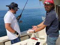 Enseñando los peces a cámara