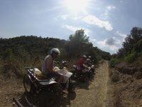 双座四人摩托车Montnegre自然公园1小时