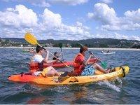 Kayaks in Galicia