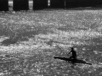 Canoeing alone