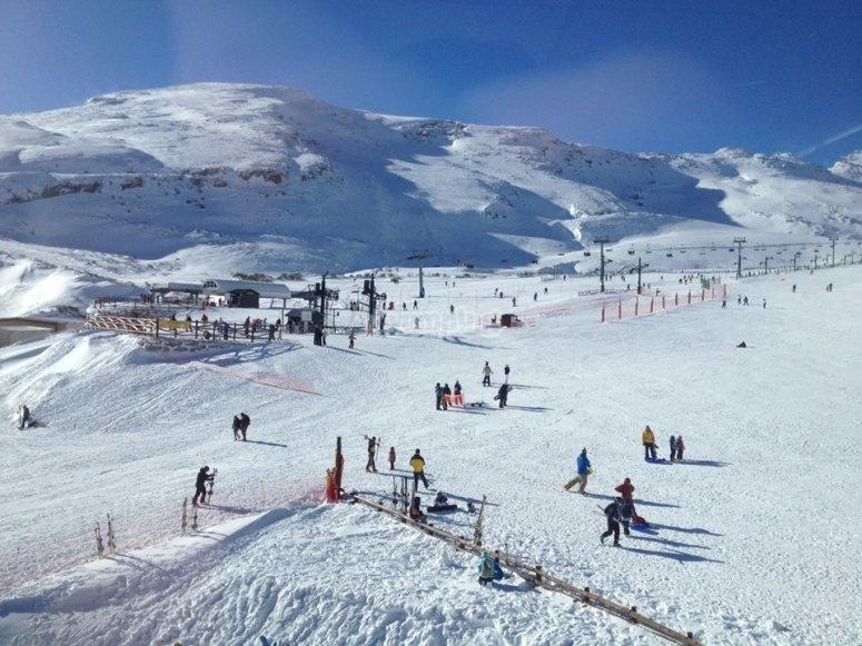 Snow in Alto Campoo