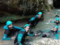 Canyoning in Alava