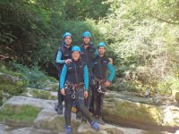 Canyoning day in the Basque Country