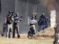 Paintball game for groups