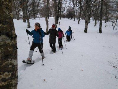 Inguru Abentura Raquetas de Nieve