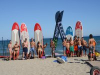 I nostri studenti di paddle surf