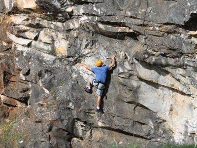 Sesión de escalada en la Sierra de Aracena, 3h.