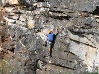 在Sierra de Aracena攀登会议,3小时。