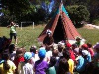 Campamento de indios