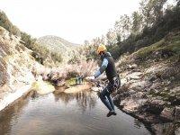 Canyoning nella Sierra de Aracena, 3 ore