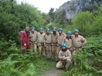 Group of caving in Alava