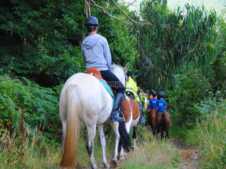 Horse ride tour in Ortigueira