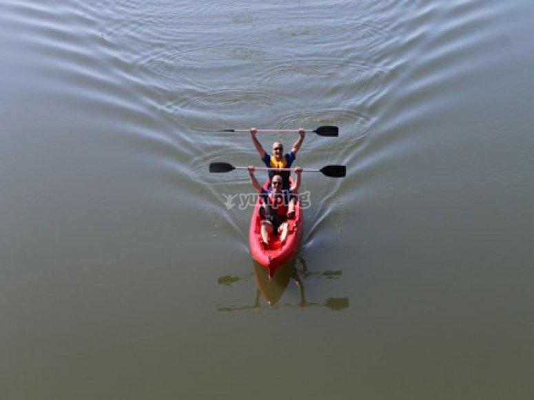 Kayak en Aracena